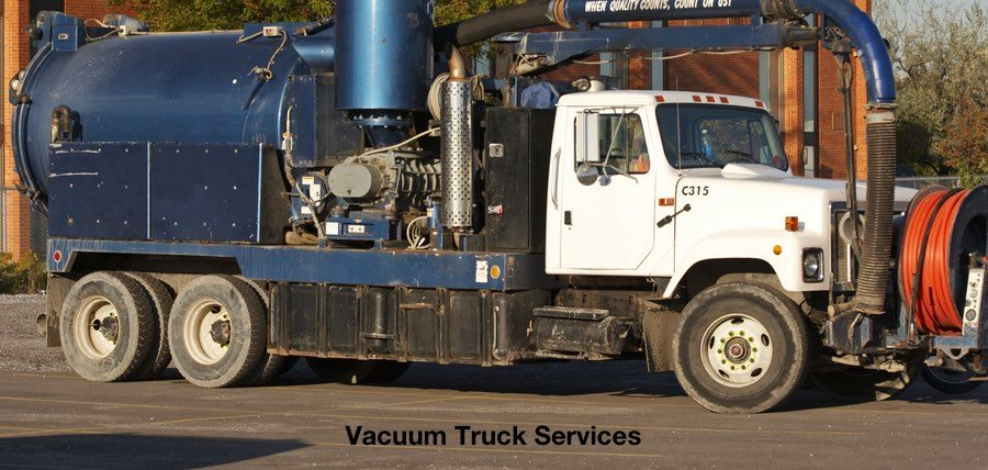 Vacuum Truck Services with Advanced Waste Management Disposal