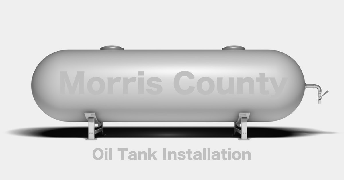 Morris County NJ Oil Tank Installation