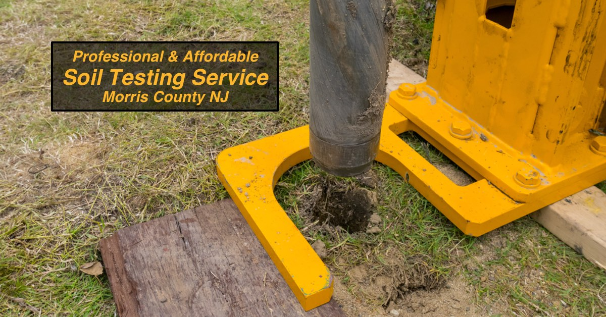 Professional & Affordable Soil Testing Service in Morris County NJ