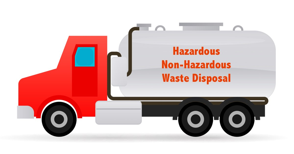Vacuum Truck Services for Disposal of Hazardous & Non-Hazardous Waste
