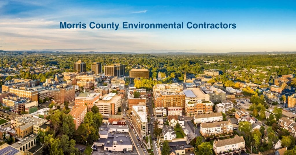 Leading Morris County Environmental Contractors